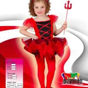 Disfraz de Diabla niña