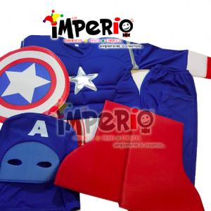 Disfraz de Capitan América Músculos