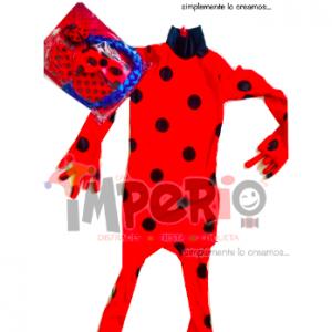 Disfraz de lady bug niña