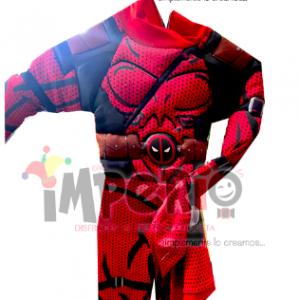 Disfraz de Deadpool Sublimado