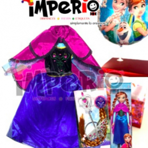 Caja sorpresa disfraz de Ana Frozen Deluxe
