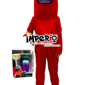 Disfraz de Among Us más juguete niños