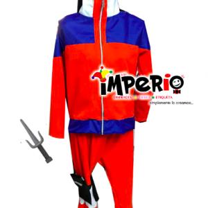 Disfraz de Naruto con accesorios